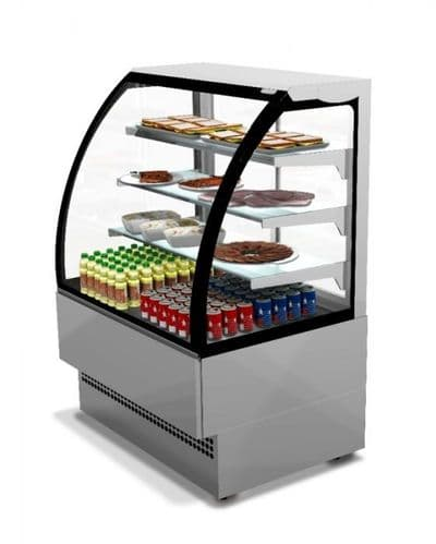 Sterling Pro EVO90-ST Stainless Steel Patisserie Counter, 0.9m / 1.41m² Dec