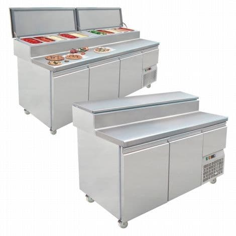 Tefcold S1-1980 Gastronorm Preparation Counter