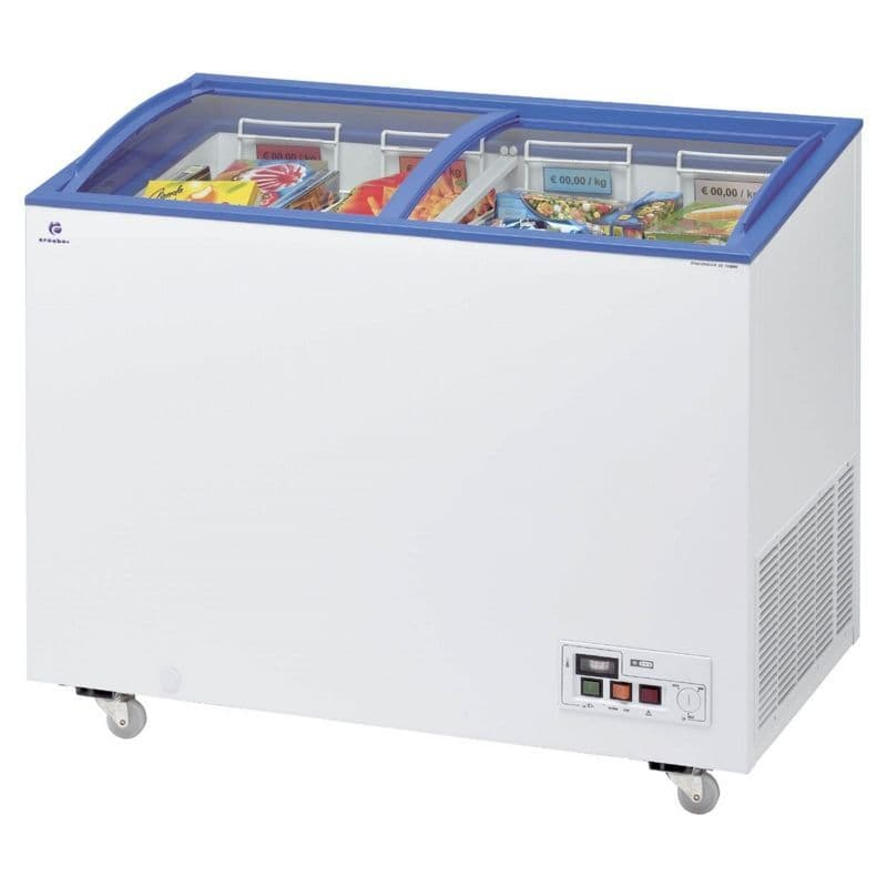 Arcaboa ACL320 Sliding Curved Glass Lid Chest Freezer £596.288