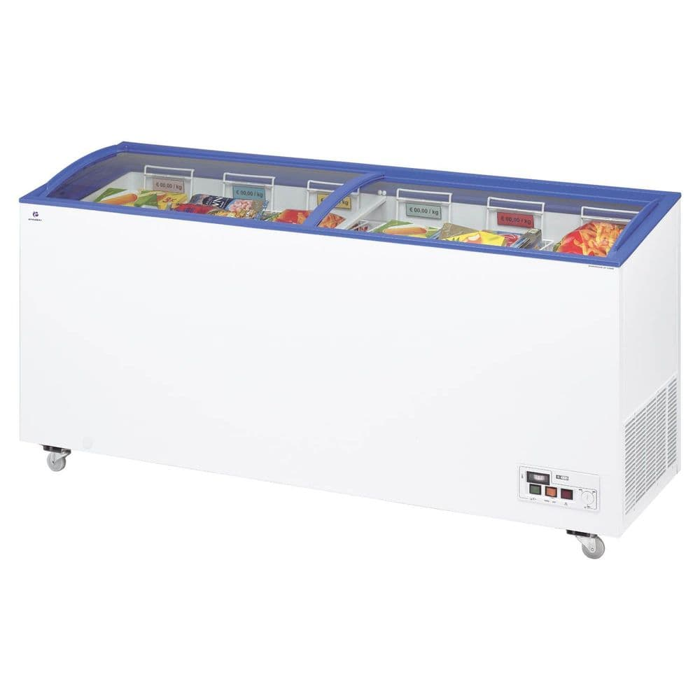 Arcaboa ACL550 Sliding Curved Glass Lid Chest Freezer £752.576