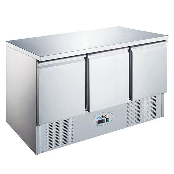 Blizzard KXCC3 3 Door Compact Gastronorm Counter 368L