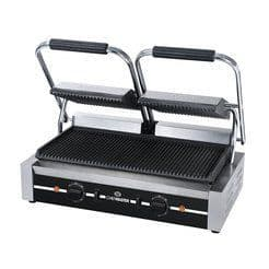 Chefmaster Double Contact Grill - Ribbed HEA789