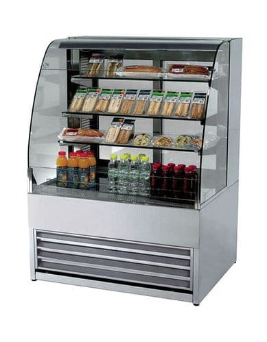 Frost-Tech Patisserie Open Display Case - P75-100-OPEN