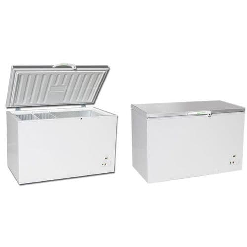 Genfrost CF1300S Chest Freezer with Stainless Lid