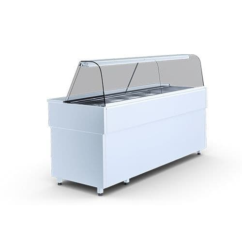 Igloo Casia1.3H Heated Bain Marie Display Counter