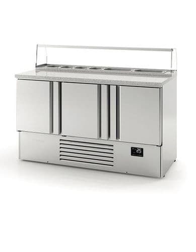 Infrico Compact Gastronorm Counter with granite worktop ME1003PIZZA