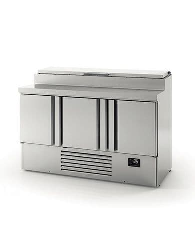 Infrico Compact Gastronorm Counter with raised collar ME1003EN