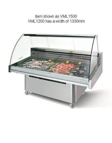 Infrico Malaga Fish Display Case - VML1200