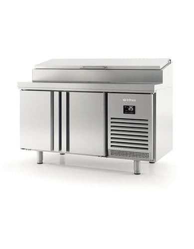 Infrico Preparation Counters with raised collar BMGN1470EN