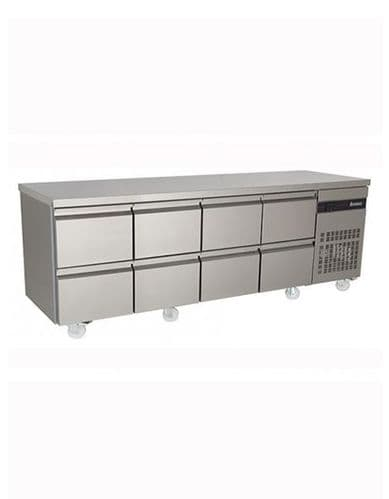 Inomak PN2222-ECO 8 Drawer 1/1 Gastronorm Counter 583L