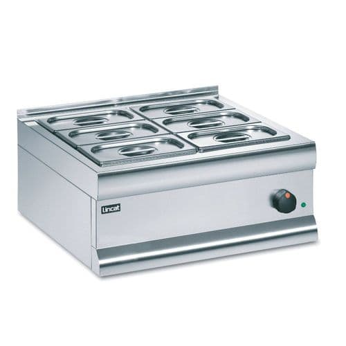 Lincat  BM6C Dry heat - with GN dishes and lids