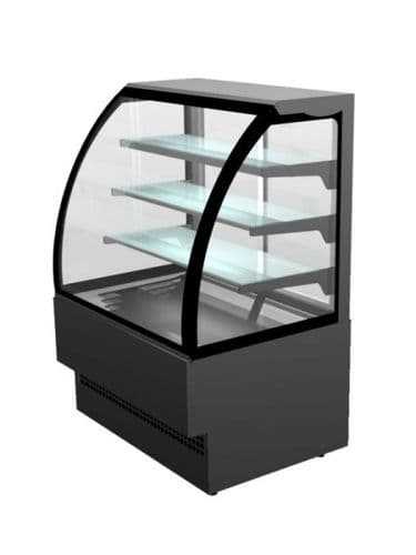Sterling Pro EVO60-BLACK Patisserie Counter, 0.6m