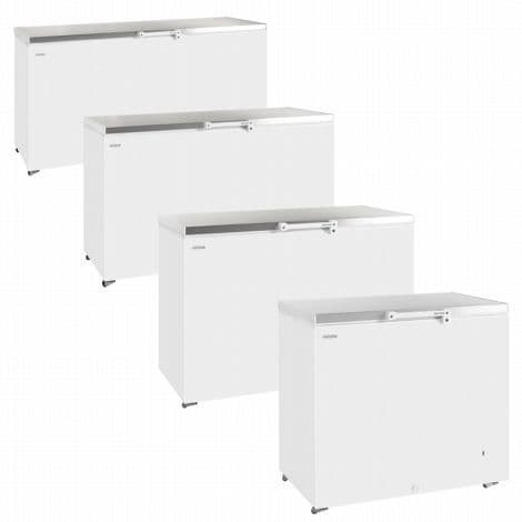 Tefcold GM600SS Solid Lid Chest Freezer