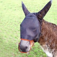 Equilibrium Field Relief Max Fly Mask for Donkey