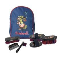 Little Rider Thelwell Rucksack Complete Grooming Kit