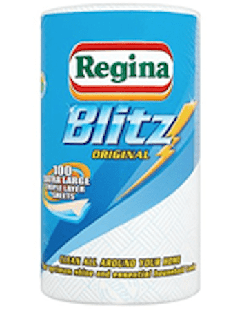 ( 6 Pack ) Regina Blitz Original 100 Extra Large Triple Layer Sheets 1 Roll