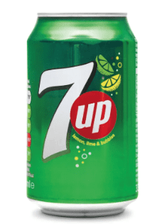 7Up Regular Cans - 330ml x (Case of 24)