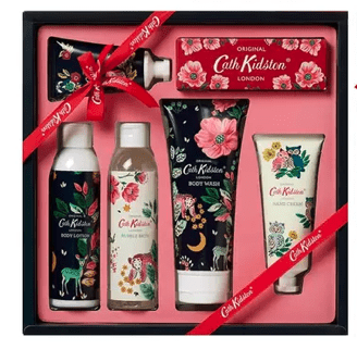 A Cath Kidston Bath and Body Collection Gift Set