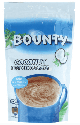 Bounty Coconut Hot Chocolate 140g pouch