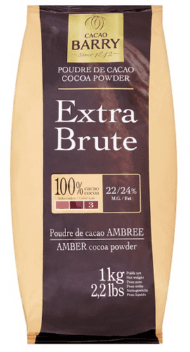 Cacao Barry Amber Cocoa Powder Extra Brute 1kg