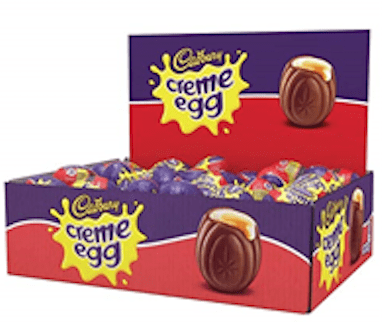 Cadbury Creme Egg, (Box of 48)