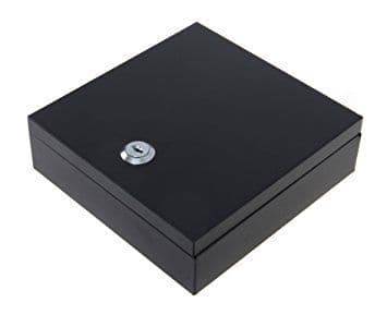 Cathedral Bolt Down 17cm Security Box with Fixing Holes and Screws Included