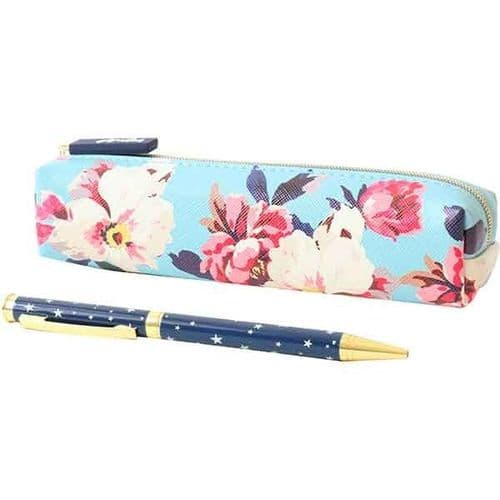 Joules Pouch and Womens Pen One Size Gold