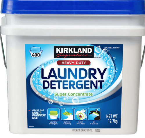 Kirkland Signature Super Concentrate Washing Powder, 400 Wash