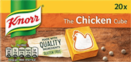 Knorr Chicken Stock Cubes (20 x 10g)