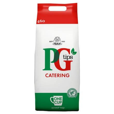 PG Tips Catering One Cup Pyramid Tea Bags 460 Pack, 920g