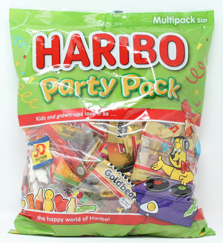 Sweets Haribo Party Mix, 1.25kg