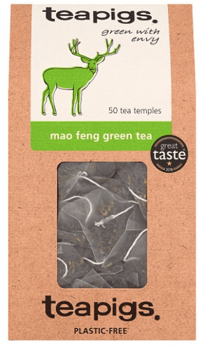 Teapigs Mao Feng Green Tea Bags Made With Whole Leaves (1 Pack of 50 Teabags)