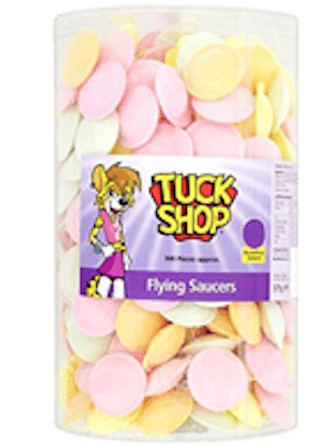 Tuck Shop Flying Saucers