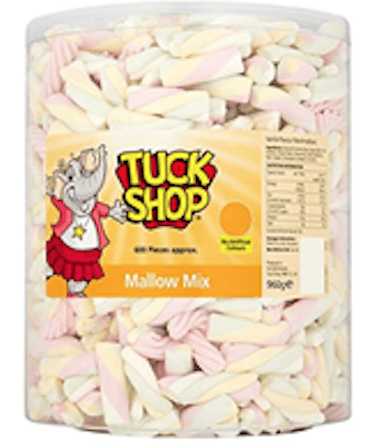 Tuck Shop Mallow Mix 960g (600 pieces approx)