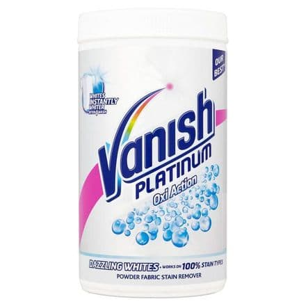 Vanish Platinum White Stain Removing Powder, 1.4 kg Tub