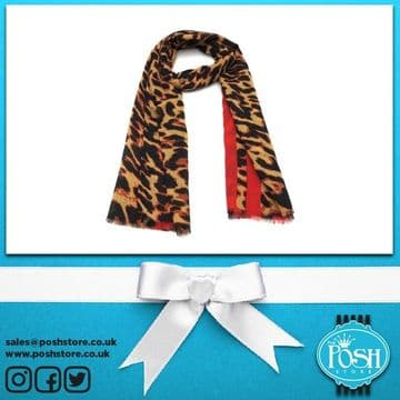 Posh3088 BROWN-RED