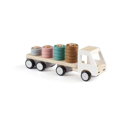 Kids Concept STAPELLASTBIL AIDEN Stacking Ring Truck