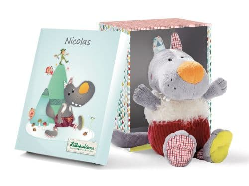 Lilliputiens Nicolas Cuddly Toy