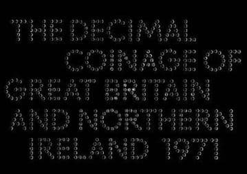 1971 Proof Coinage Of Great Britain and Northern Ireland 6 Coin Set