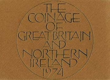 1974 Proof Coinage Of Great Britain and Northern Ireland 6 Coin Set