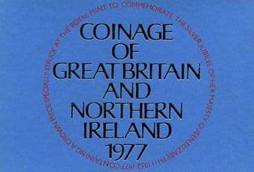 1977 Proof Coinage Of Great Britain and Northern Ireland 7 Coin Set