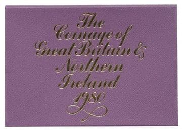 1980 PROOF COINAGE OF GREAT BRITAIN AND NORTHERN IRELAND 6 COIN SET