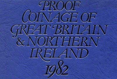 1982 Proof set for sale - English Coin Company