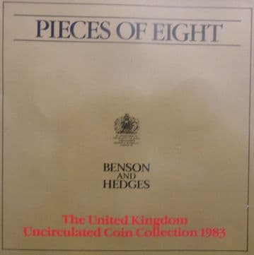 1983 Brilliant Uncirculated Coin Collection Benson and Hedges