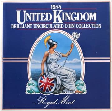 1984 Brilliant Uncirculated Coin Collection