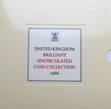 1986 Brilliant Uncirculated Coin Collection