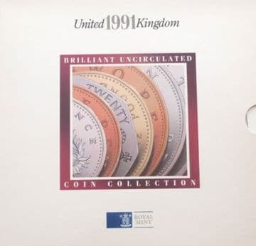 1991 Brilliant Uncirculated Coin Collection
