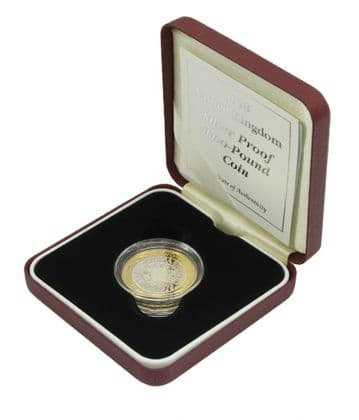 1998 Silver proof £2