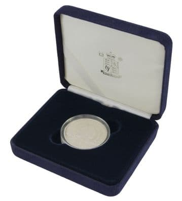 2000 Silver Proof £5 Coin Queen Mother
