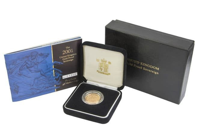 2001 Proof Full Sovereign for sale